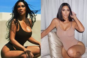 Kim Kardashian before and after in showbiz